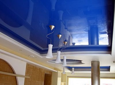 Зеркальные натяжные потолки Кривой Рог