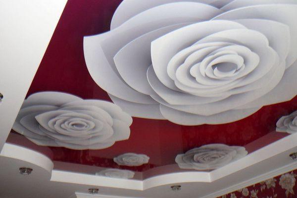 Натяжные потолки с фотопечатью в кривом роге