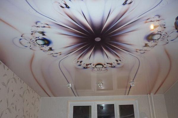 Рисунки на потолке кривой рог