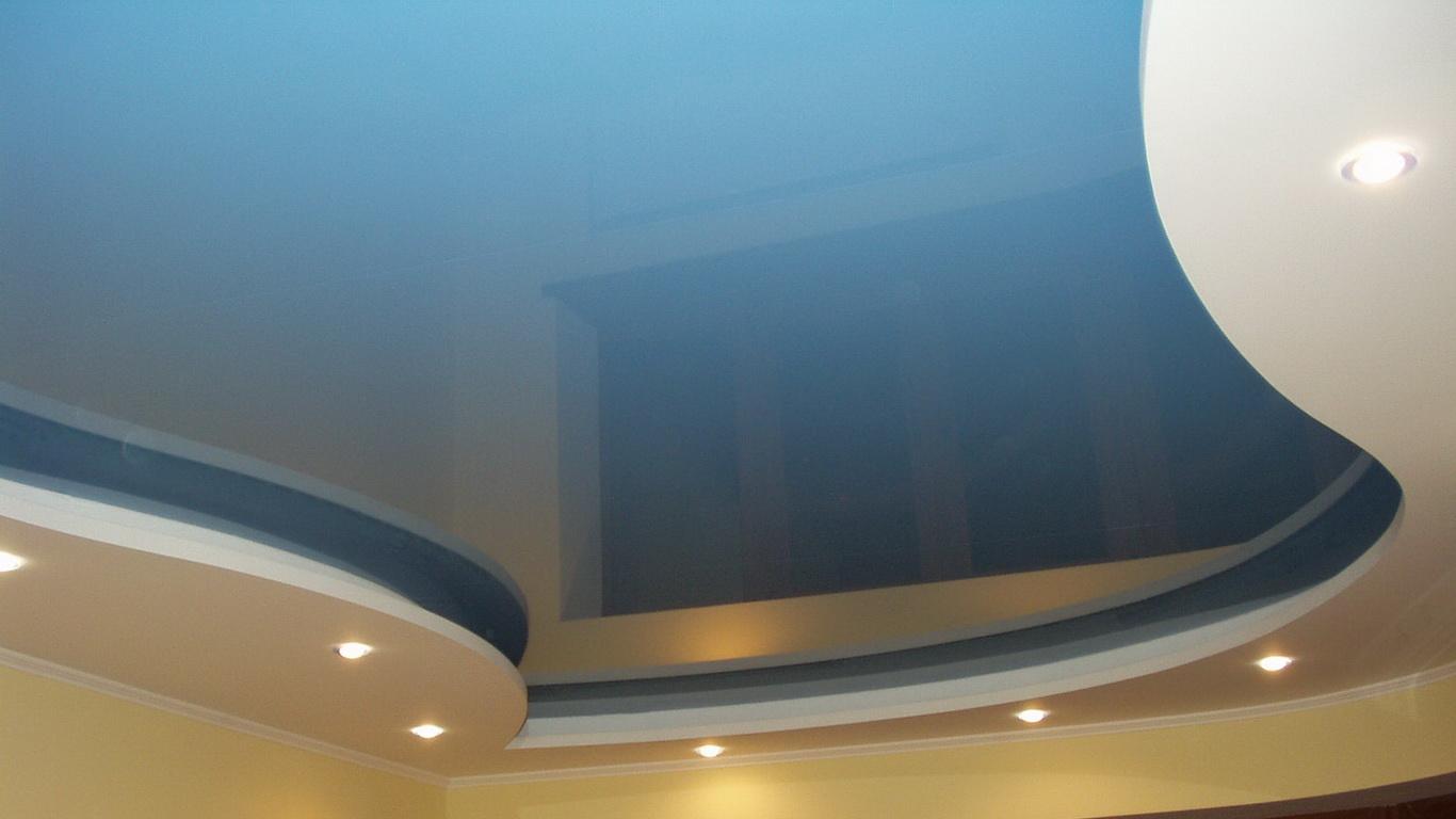 Многоуровневые натяжные потолки в г. Кривой Рог