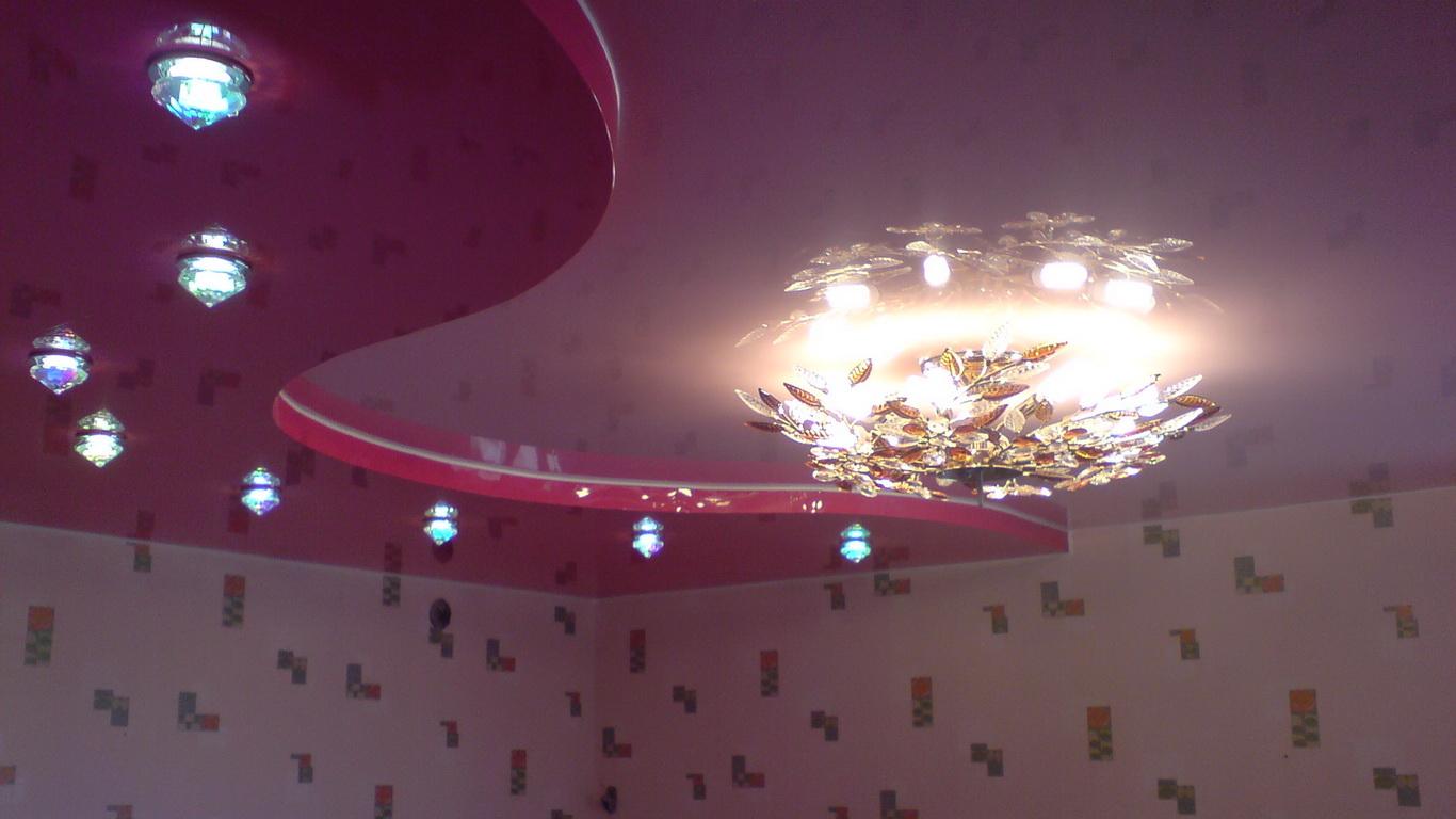 Натяжной многоуровневый потолок в Кривом Роге