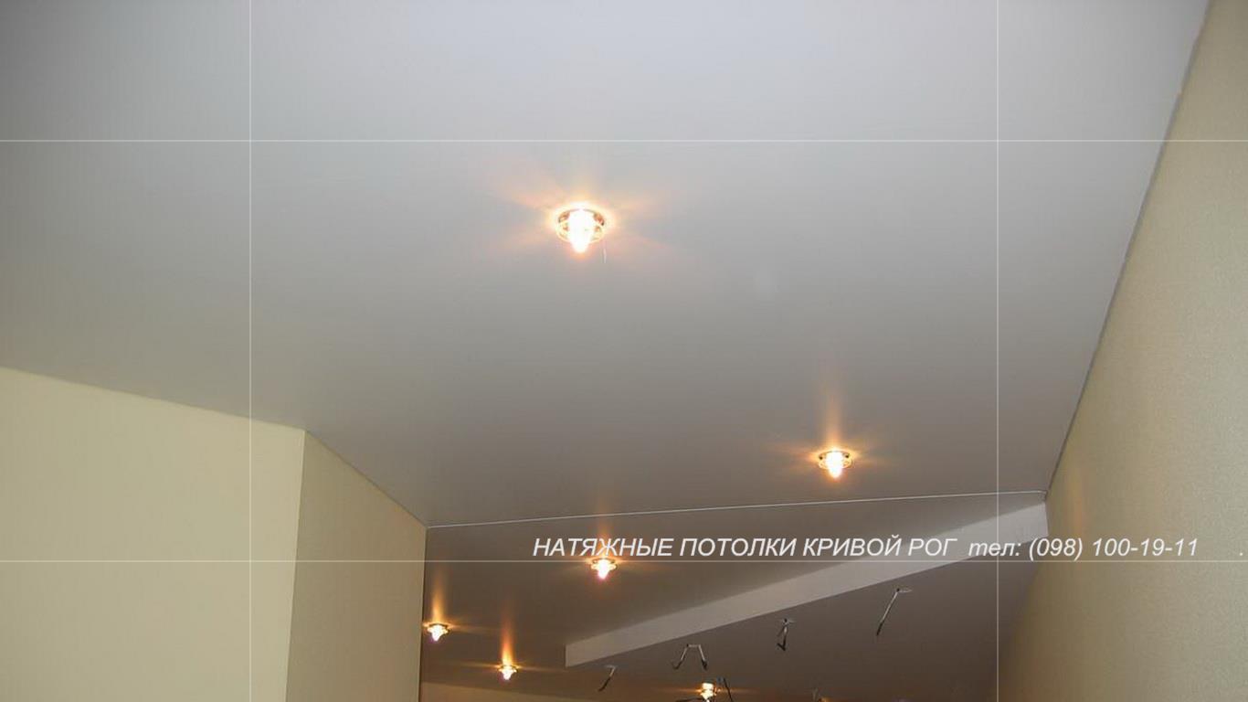 Натяжные потолки тканевые и пленочные кривой рог